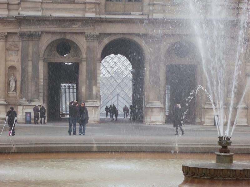 Louvre Cour Carree<br /> Paris - 2013-01-10 at 10-42-15