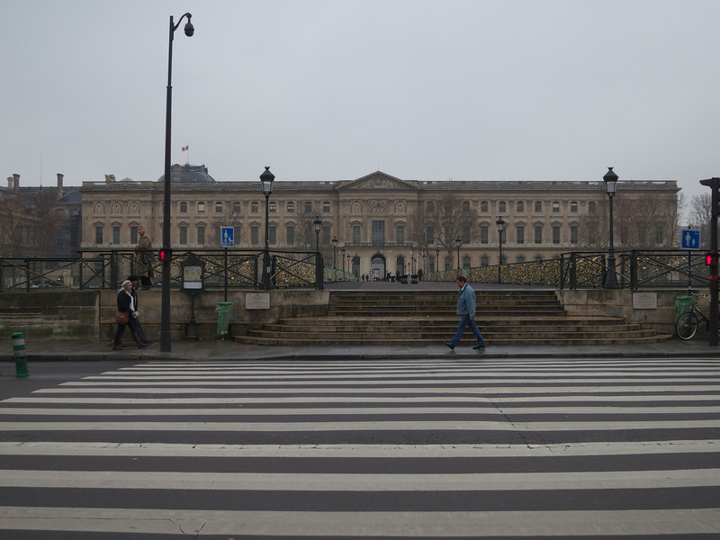 The Louvre at Pont des Arts<br /> Paris - 2013-01-10 at 10-33-51