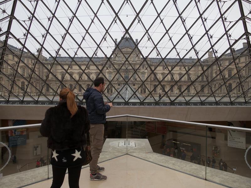 Louvre Entrance<br /> Paris - 2013-01-10 at 10-58-01