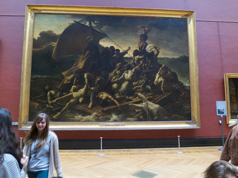 The Raft of the Medusa -- Gericault<br /> Paris - 2013-01-10 at 12-06-24
