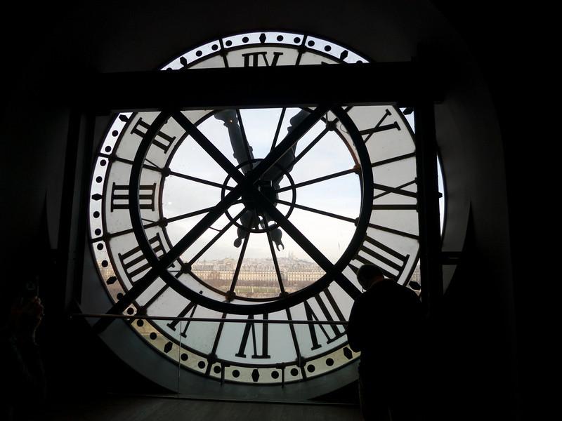 Clock at the Orsay<br /> Paris - 2013-01-11 at 11-04-28
