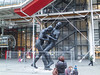 Statue in front of Pompidou Center<br /> Paris - 2013-01-11 at 16-58-53