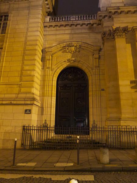 Ecole Nationale des Chartes portal<br /> Paris - 2013-01-12 at 20-57-06