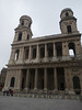 St Sulpice with no scaffolding on the right tower <br /> Paris - 2013-01-13 at 11-57-33