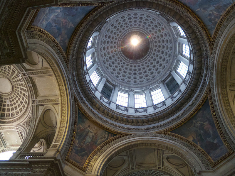 Pantheon interior dome<br /> Paris - 2013-01-13 at 11-00-22