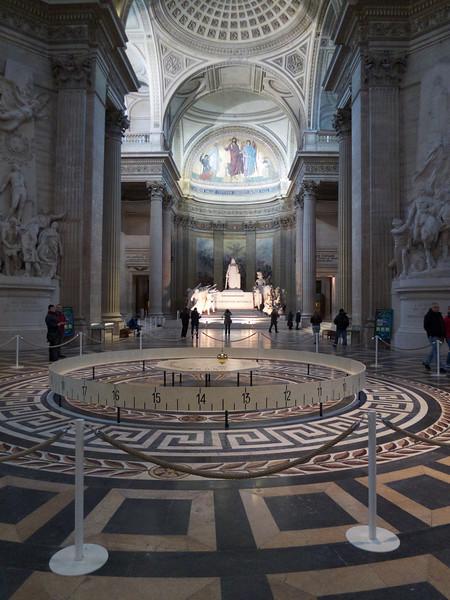 Foucault's pendulum<br /> Paris - 2013-01-13 at 10-59-25