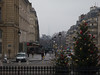 From the Pantheon steps, the Tour Eiffel is barely visible in the fog<br /> Paris - 2013-01-13 at 11-38-27