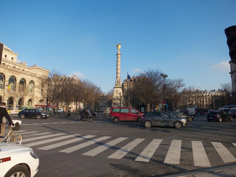 Place du Chatelet<br /> Paris - 2013-01-14 at 10-46-41