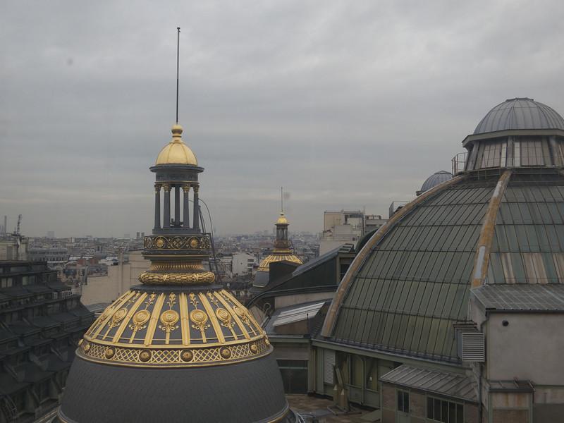 Cupolas of Le Printemps<br /> Paris - 2013-01-14 at 15-19-14