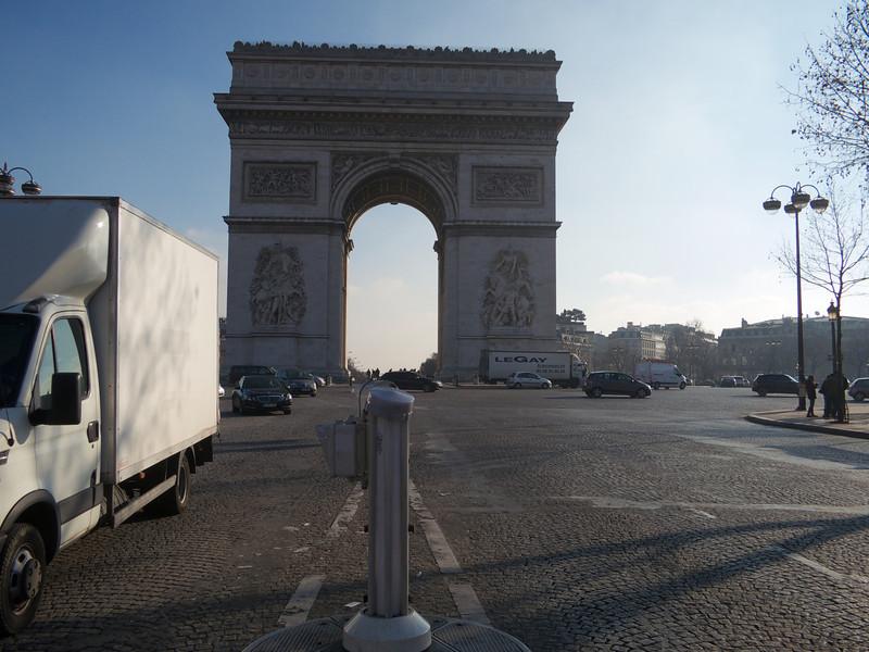 Arc de Triomphe<br /> Paris - 2013-01-14 at 12-03-14