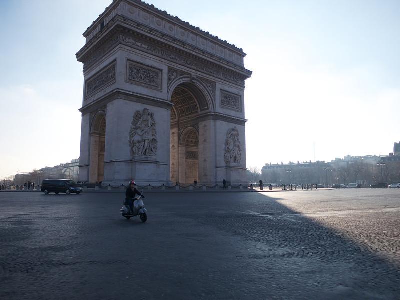 Arc de Triomphe<br /> Paris - 2013-01-14 at 11-59-43