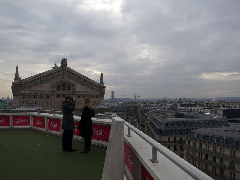 Opera house and Tour Montparnase<br /> Paris - 2013-01-14 at 14-21-19