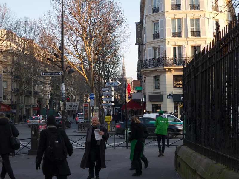 Today's 1st destination down the street<br /> Paris - 2013-01-14 at 09-42-52