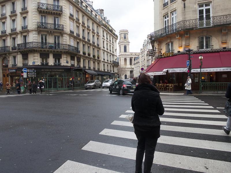 St Suplice from Rue de Rennes<br /> Paris - 2013-01-15 at 14-10-55