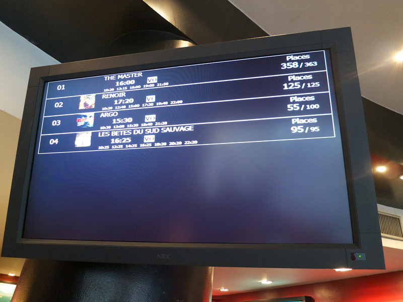 Buying ticket for Argo--Note the active display of tickets sold<br /> Paris - 2013-01-15 at 15-29-39