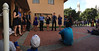 Cal Jazz Choir and Herts Hall Queue<br /> Fall Free for All 2013-09-29 at 15-27-21