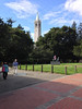 Faculty Glade and Sather Tower<br /> Fall Free for All 2013-09-29 at 14-58-09