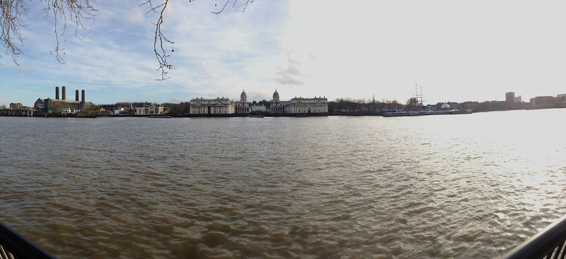 Greenwich shoreline from Island Gardens<br /> London - 2014-02-03 at 14-52-14