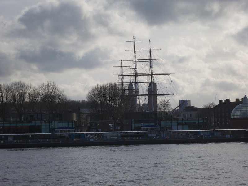 Cutty Sark from Island Gardens<br /> London - 2014-02-03 at 14-49-18