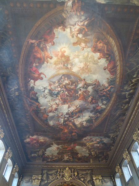 Painted Hall ceiling<br /> London - 2014-02-03 at 12-19-40