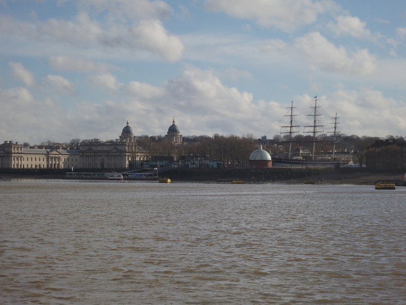 Greenwich from the Thames<br /> London - 2014-02-03 at 11-37-46