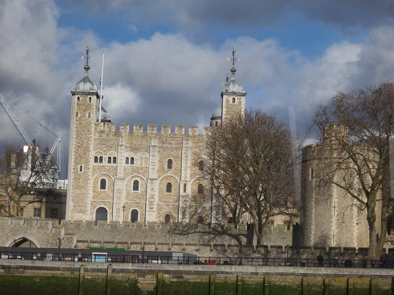 The Tower of London from the Thames<br /> London - 2014-02-03 at 11-17-48
