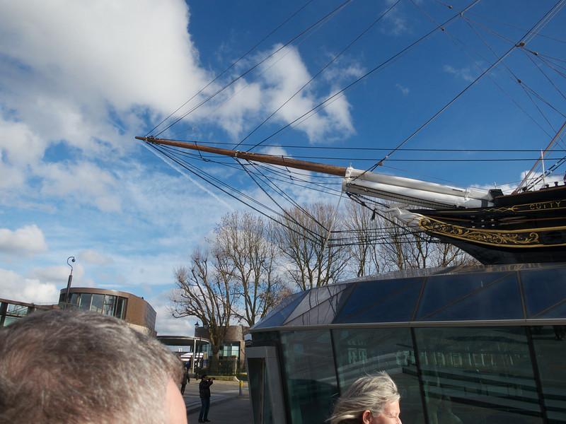 Cutty Sark bow<br /> London - 2014-02-03 at 11-47-40