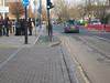 Note that pedestrians must block the path to trigger the signal<br /> London - 2014-02-03 at 14-58-22
