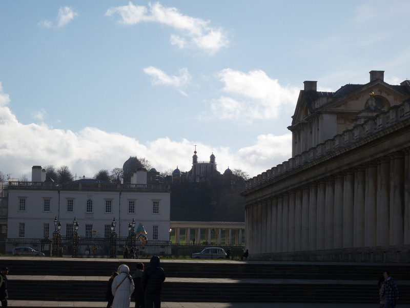 The Old Observatory over the Queen's House<br /> London - 2014-02-03 at 12-09-27