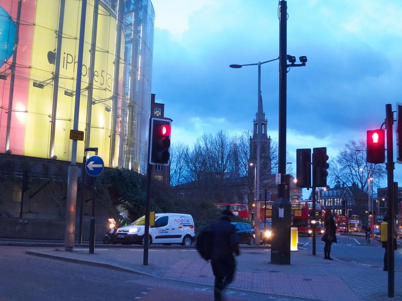 Imax and St. John's<br /> London - 2014-02-04 at 17-05-10