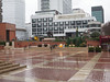 A wet British Library Courtyard<br /> London - 2014-02-05 at 12-46-21