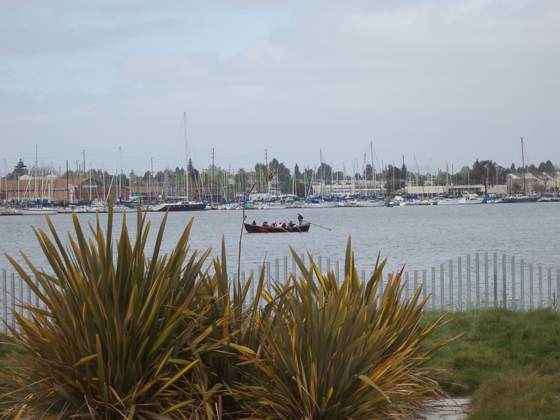 A Whaleboat in the Estuary<br /> Oakland  2014-04-12 at 10-06-58