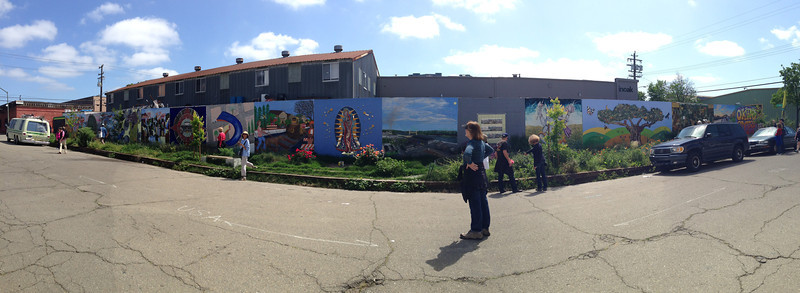 The Rue de Merde Mural<br /> Oakland  2014-04-12 at 12-03-10