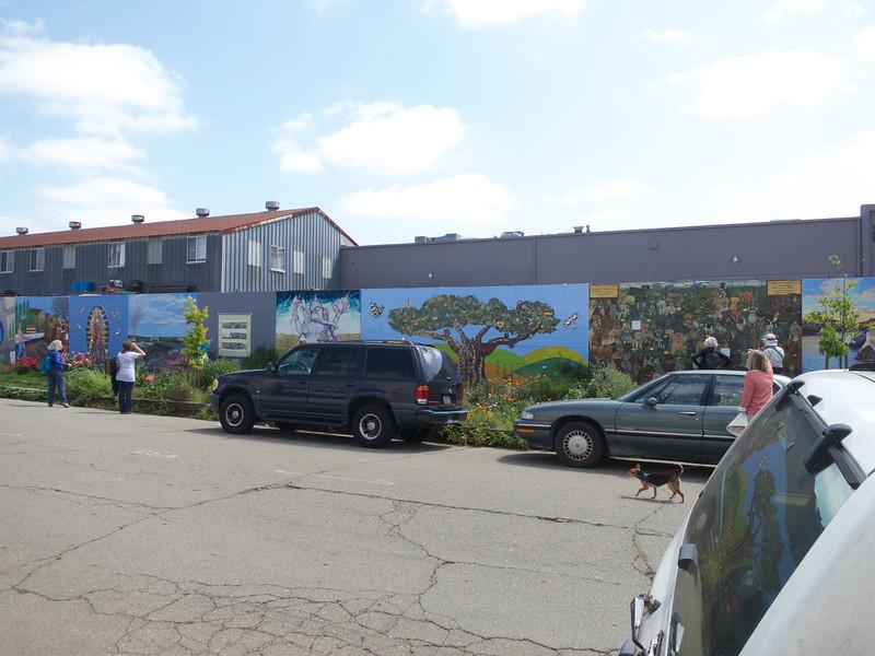 The Rue de Merde Mural<br /> Oakland  2014-04-12 at 12-01-42