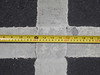 1 ft inside; 3 in stripe<br /> Piedmont Av 2014-04-24 at 13-33-24