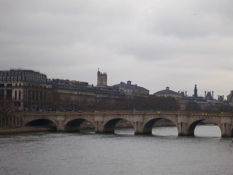 Tour St. Jacques rises above<br /> Paris - 2015-02-21 at 10-54-03