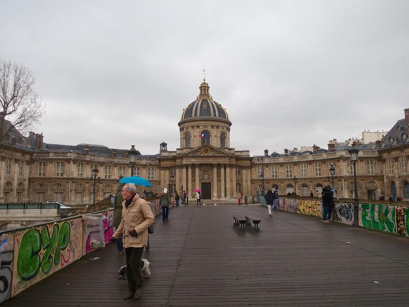 The Institut de France from the Pont des Arts<br /> Paris - 2015-02-21 at 10-53-45