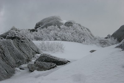 Monadnock in Ice