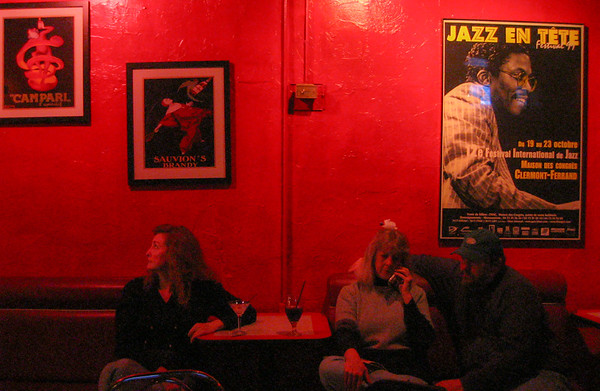 Red mood, blues bar, Nashville