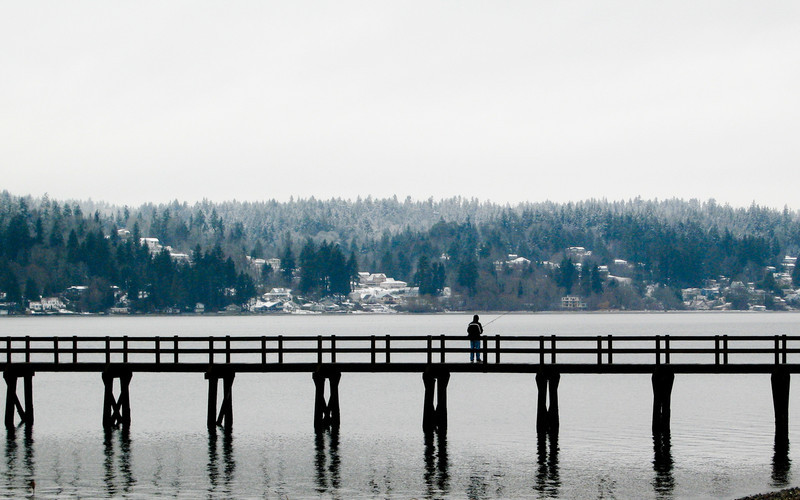 Point White Pier, Bainbridge Island