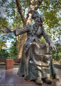 Statue of Franz Liszt in Franz Liszt Square