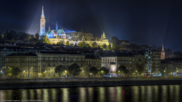 Matthias Church overlooking the Danube