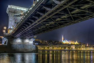Chain Bridge and Matthias Church