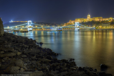 Citadella, Chain Bridge, and Buda Castle