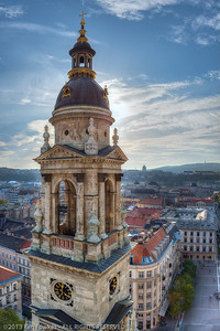 Views from the cupola of St. Stephen's Basilica