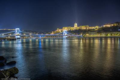 Chain Bridge and Buda Castle