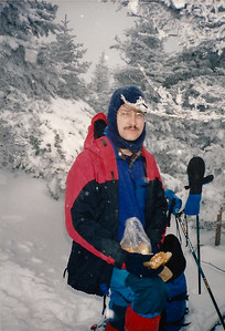 David during a skiing trip on Moosilauke, winter 1999.