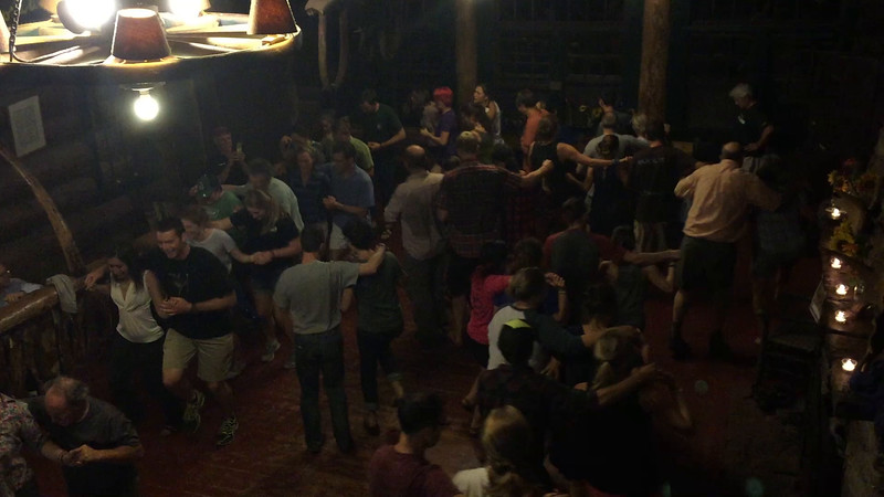 The final Salty Dog Rag at Moosilauke Ravine Lodge. Video by Mark Schiffman '90.