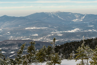 Mount Mansfield, from Mount Hunger.