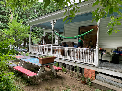 Porch of The Rock, summer 2020. Photo by David Kotz '86.